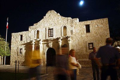 <strong>The Alamo in North of Brackettville, Texas</strong>