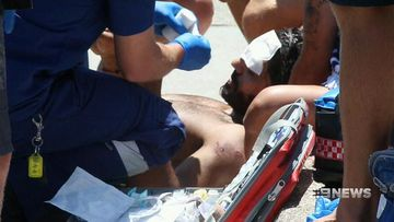 Major manhunt underway after man attacked at Bondi Beach
