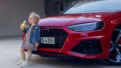 Audi apologises for suggestive ad.