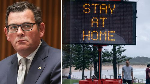 Victorian Premier Daniel Andrews was among Premiers who reinstated border restrictions to NSW residents.