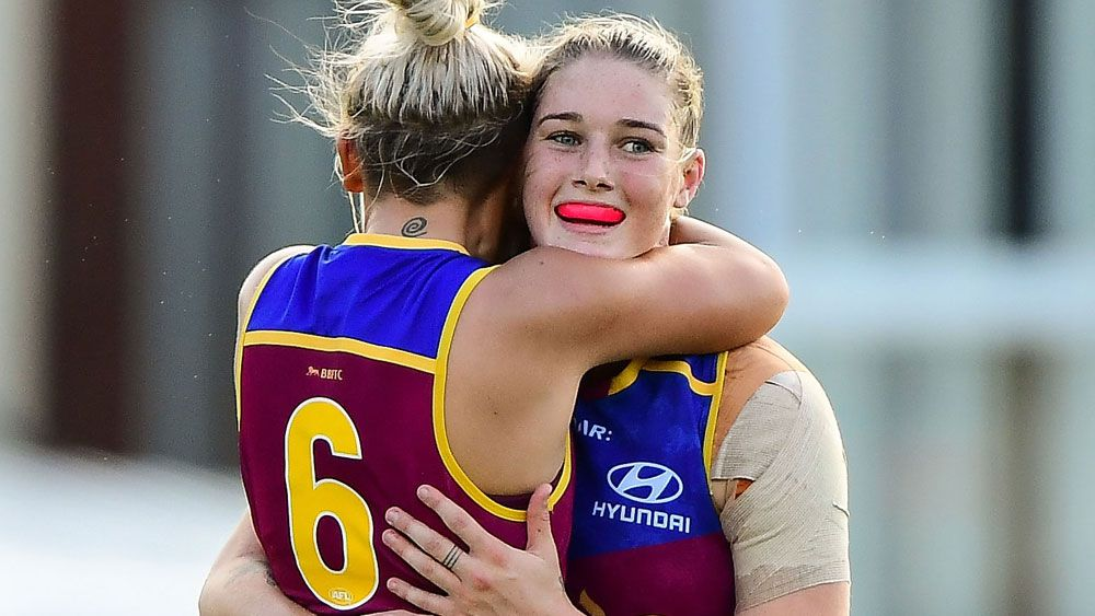 Brisbane Lions star Harris steals the show in AFLW competition