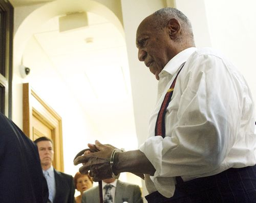 Cosby declined the opportunity to address the court before he was led away.
