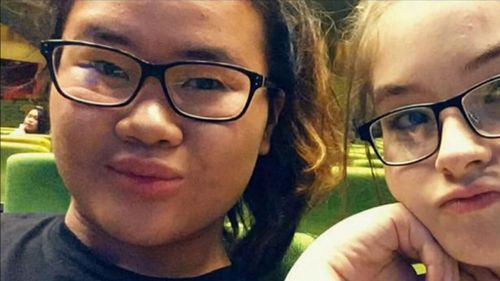 Aivy Nguyen was hit and killed by a truck while crossing the road near her Melbourne home yesterday. (Supplied)