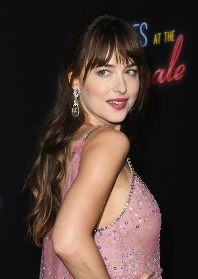 Dakota Johnson attends the premiere of 20th Century FOX's 'Bad Times At The El Royale' at TCL Chinese Theatre on September 22, 2018 in Hollywood, California.
