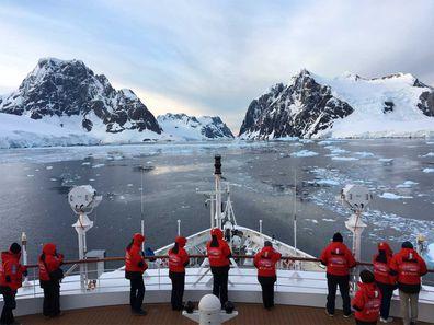 Antarctica PONANT passengers