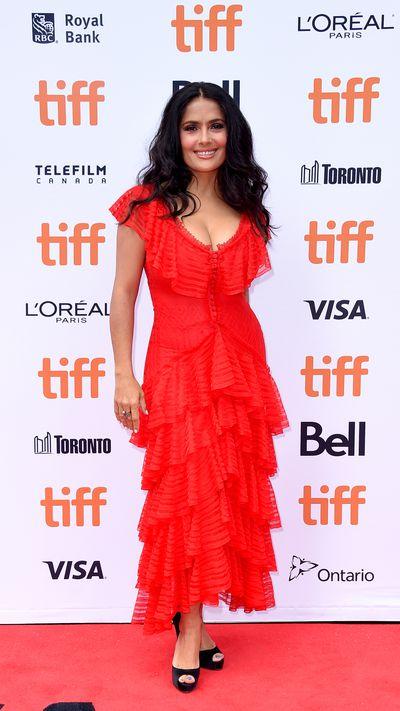 Salma Hayak, 2018 Toronto Film Festival