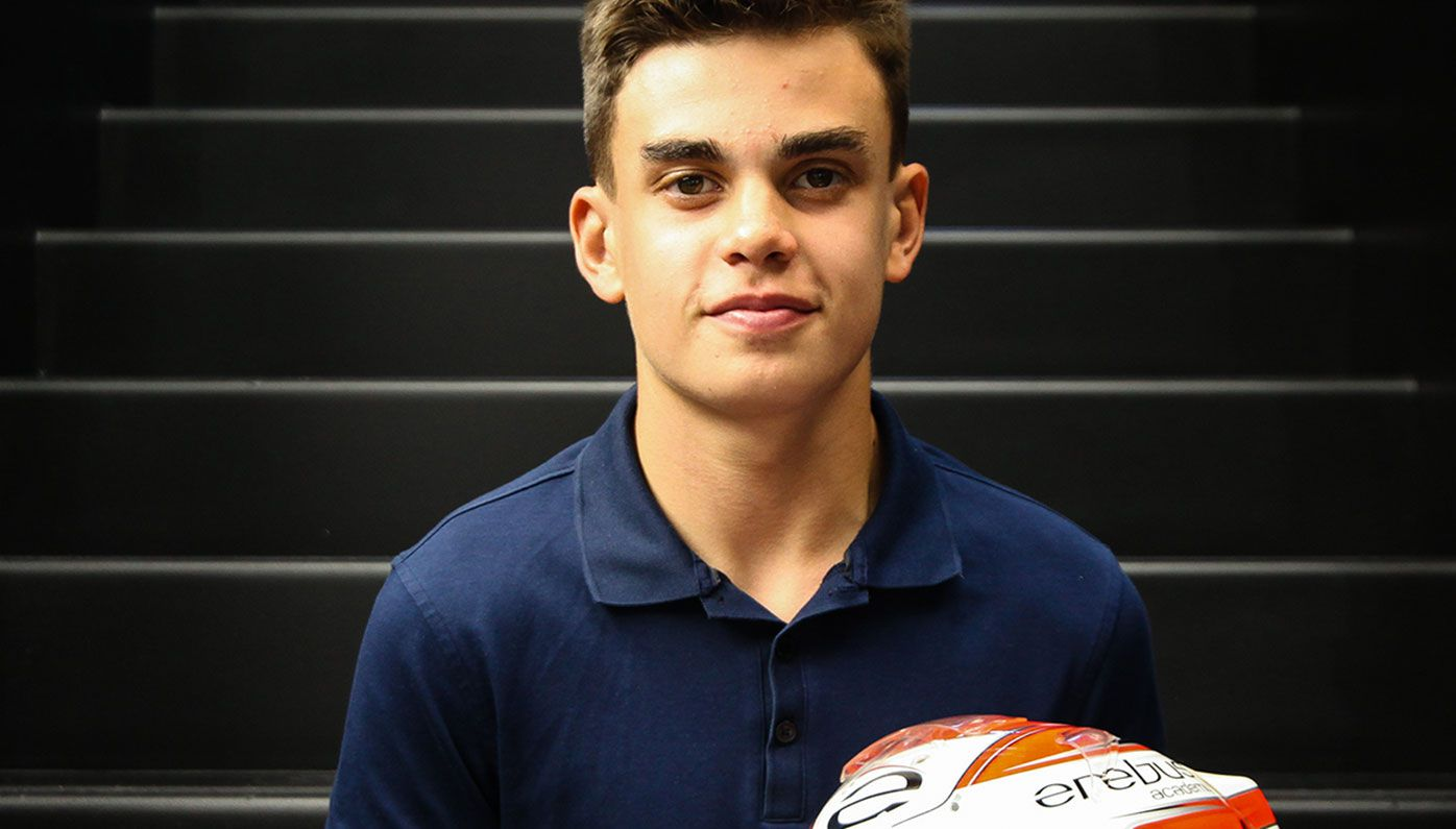 14-year-old Australian James Wharton has been signed by the Ferrari Driver Academy.
