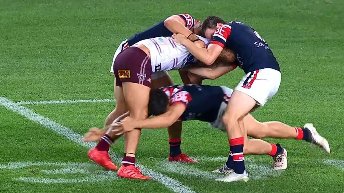 NRL: Peter Sterling expresses concern over controversial 'cannonball' tackle