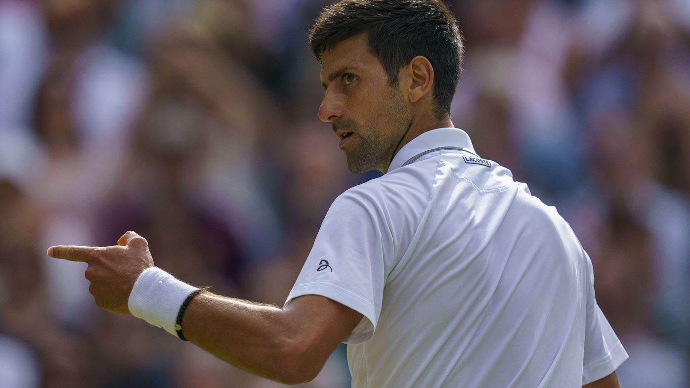 Novak Djokovic inexplicably booed during Wimbledon final against Roger Federer