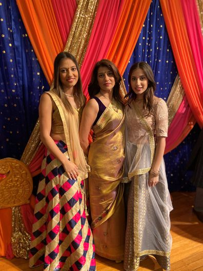 Ameeta MS with friends