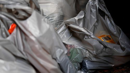 Single use plastic bags were banned on July 1. Picture: AAP