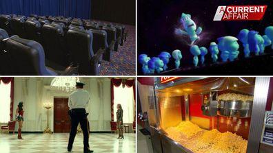 Cinemas struggle through pandemic