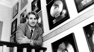 Record Producer and Inxs Manager Chris Murphy at his Potts point office. October 17, 1991