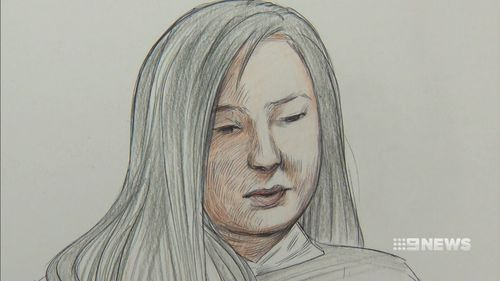 Wan wept on Tuesday as the court was shown x-ray images of her mother's injuries.