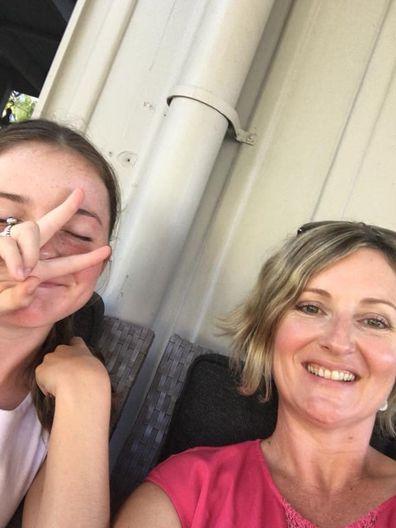Kellie Postle and Alyssa fun