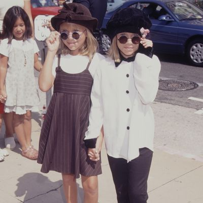 Mary Kate and Ashley Olsen: 1996