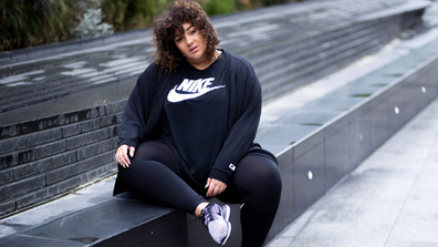 e91d3b3b0d Nike star and plus-size model Gracie Victoria has been trolled online for  her appearance