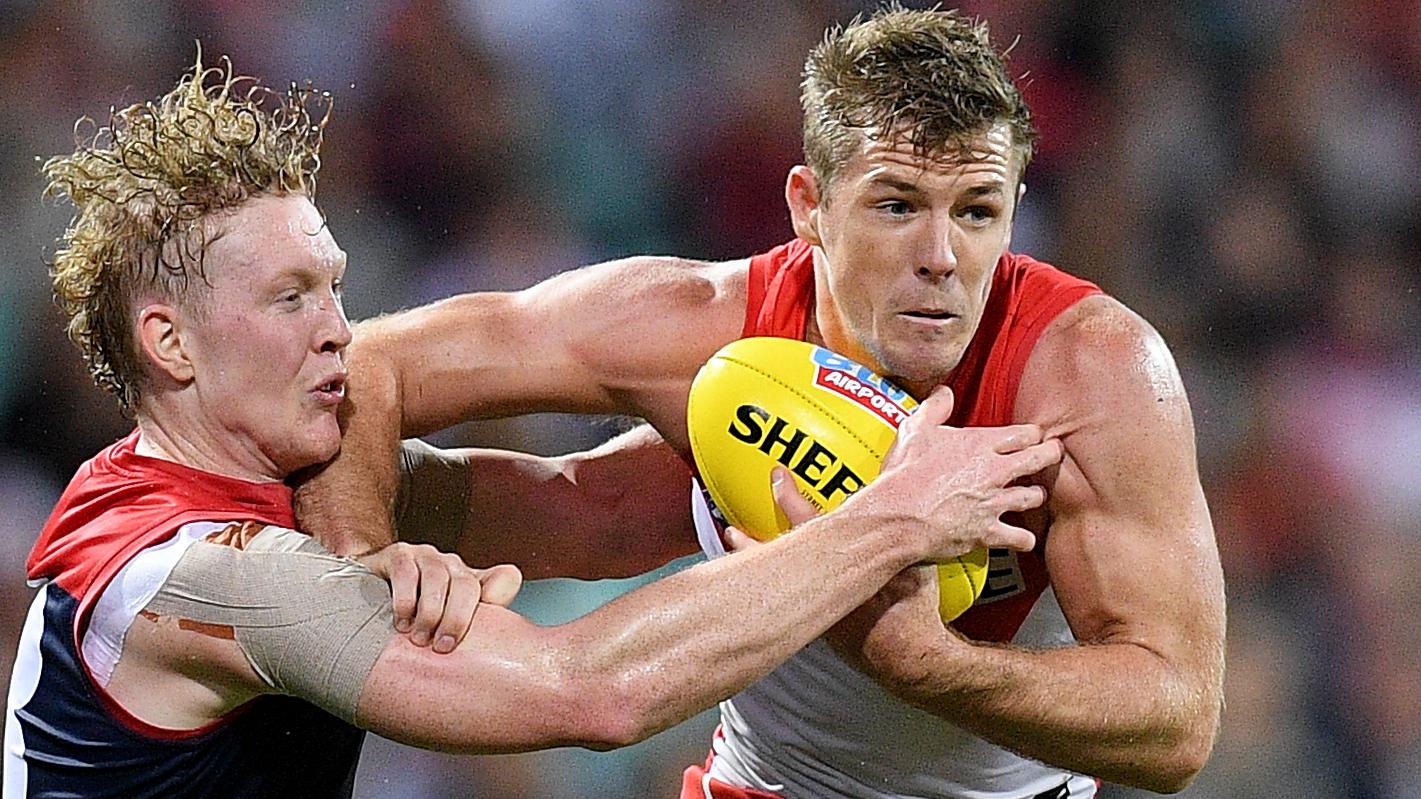 Sydney Swans captain Luke Parker lashed for lack of impact