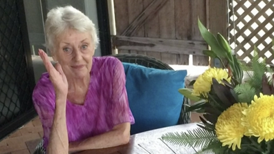 His mother is in Hervey Bay dying of organ failure.