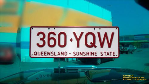 Police are appealing for anyone who sees a vehicle with Queensland plates 360YQW to contact CrimeStoppers.