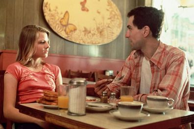 Jodie Foster and Robert De Niro star in Taxi Driver.