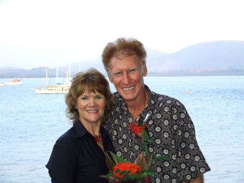His wife, Shelly, died in a freak sailing incident in Malaysia in 2014. (Facebook)