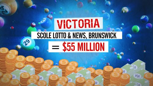 Victoria has the most in unclaimed prizes with a whopping total of $55 million from Powerball. Graphic: 9NEWS