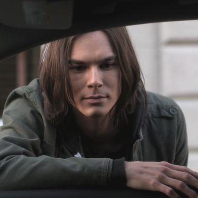 Tyler Blackburn as Caleb Rivers: Then