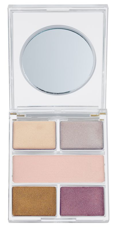 "<a href=""http://napoleonperdis.com/aus/light-switch-luminizer-palette.html"" target=""_blank"">Napoleon Perdis Light Switch Luminizer Palette, $70</a>."