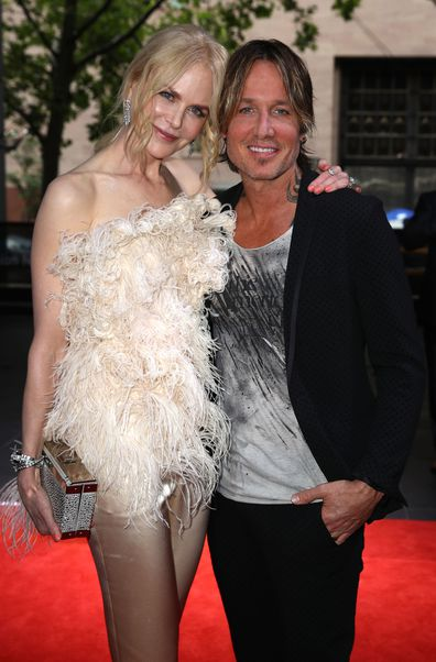Nicole Kidman and Keith Urban arrive for the 32nd Annual ARIA Awards 2018 at The Star on November 28, 2018 in Sydney, Australia.