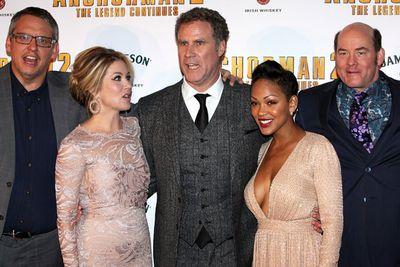 The cast of <i>Anchorman 2: The Legend Continues</i>.