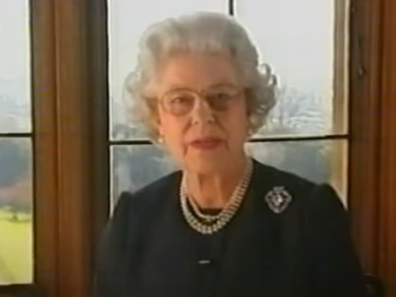 Queen's address to nation after Queen Mother's death, 2002