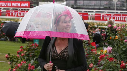 The Melbourne Cup could be a washout as forecasters warn the city is set to face a deluge tomorrow, like in 2017 and 2012 when showers hit.