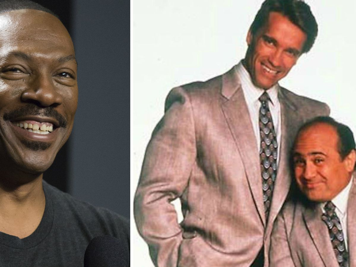 Eddie Murphy Joins Arnold Schwarzenegger Danny Devito In Twins Sequel 9celebrity