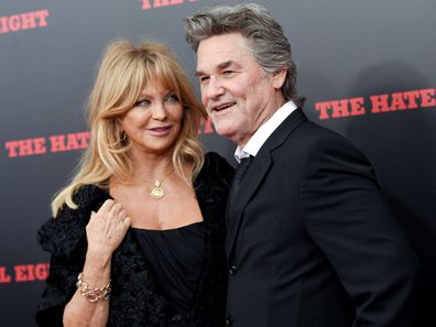 Goldie Hawn and Kurt Russell in 2015.