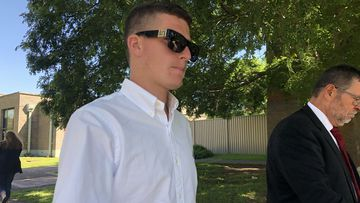 Top cop's son pleads guilty to driving charges