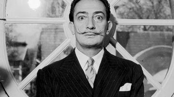 A portrait of Spanish artist Salvador Dali. (Getty)