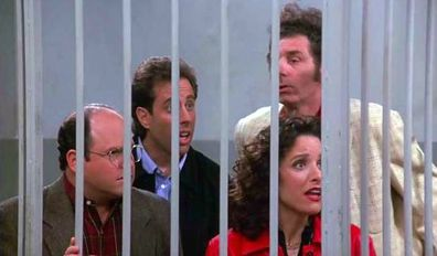 The Seinfeld series finale.