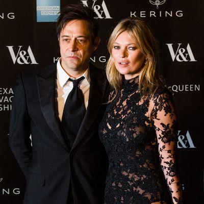 Kate Moss and Jamie Hince