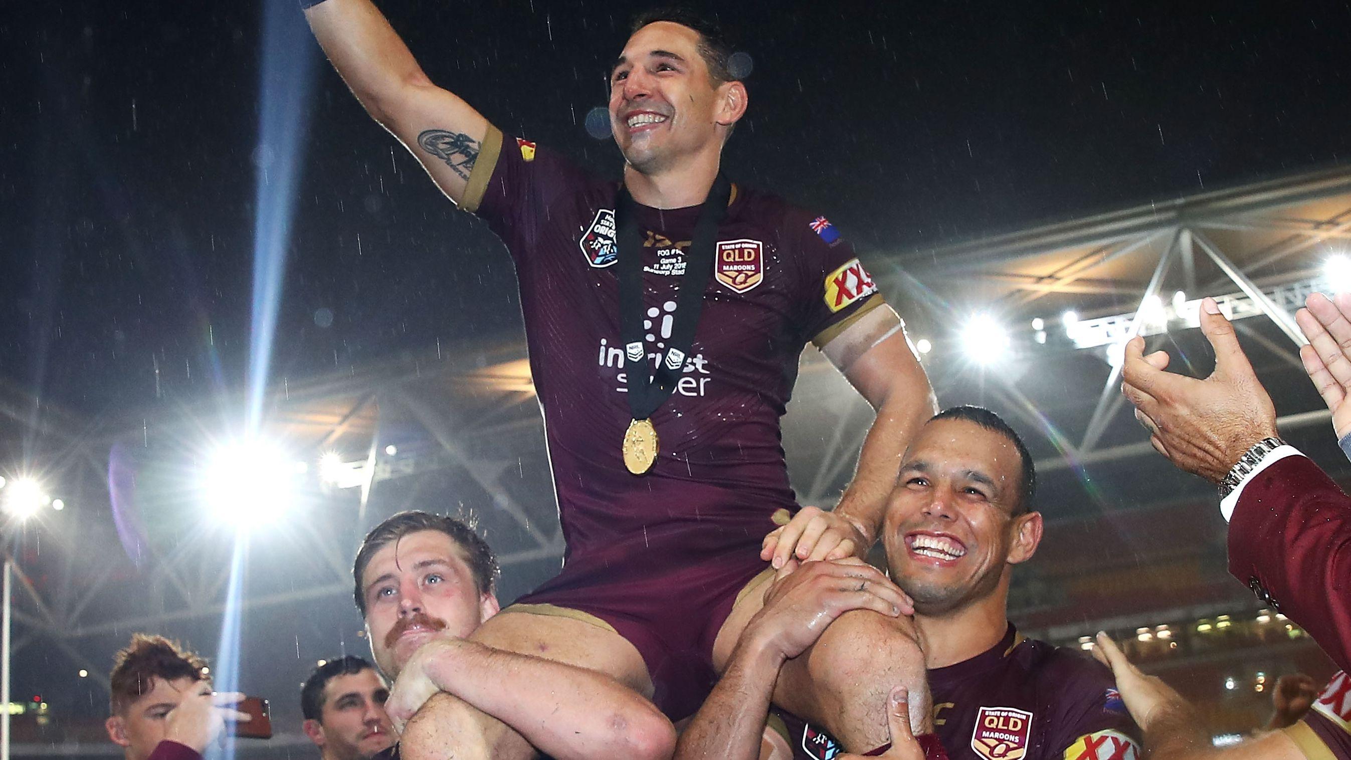 Billy Slater will coach Queensland.