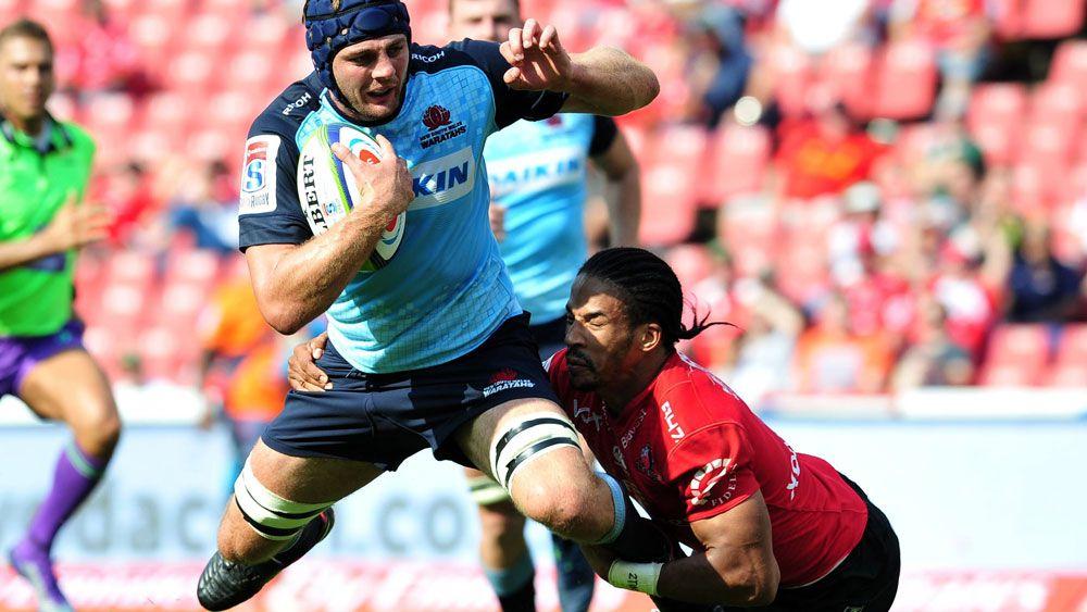 Sharks sink Waratahs in Super Rugby