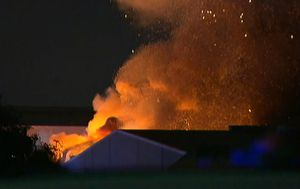 Perth tyre recycling factory destroyed by fire