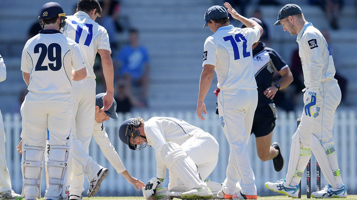 Cricket: Sean Abbott shaken after Will Pucovski helmet hit in Sheffield Shield match