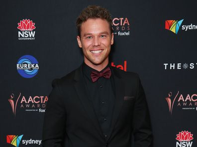 Lincoln Lewis attends the 2019 AACTA Awards Presented by Foxtel | Industry Luncheon at The Star on December 02, 2019 in Sydney, Australia.