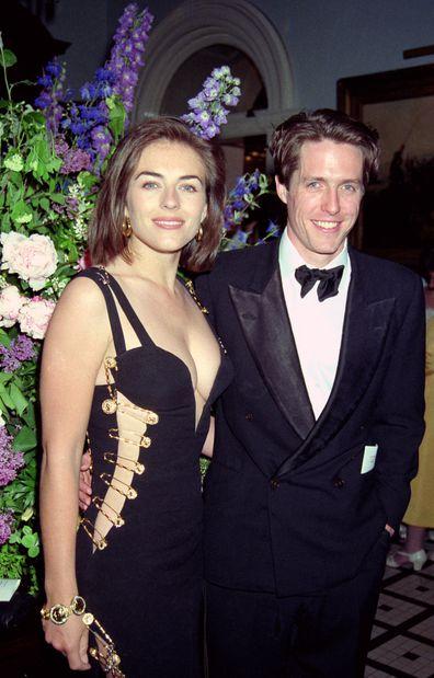Elizabeth Hurley, relationship, timeline, dating, exes, boyfriends, Hugh Grant