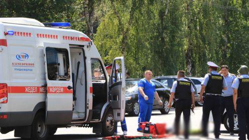 Four killed in attacks in Kazakhstan's financial capital Almaty