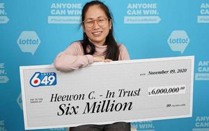 Canadian hospital workers become millionaires after winning $6 million in the lottery