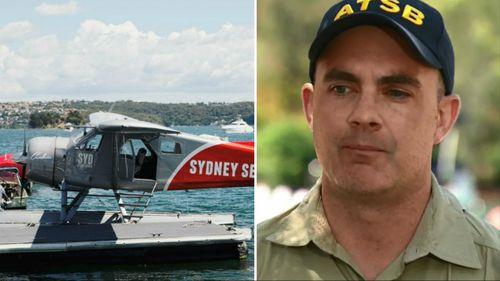 The aircraft / Australian Transport Safety Bureau executive director transport safety Nat Nagy.