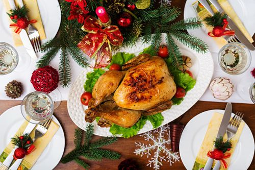 The cost of Christmas lunch could go up because of the drought.
