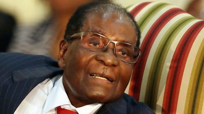 'Offensive': Zimbabwe's Mugabe named WHO goodwill ambassador